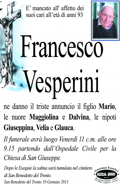Francesco Vesperini