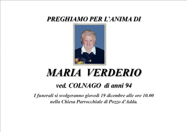 Maria Verderio