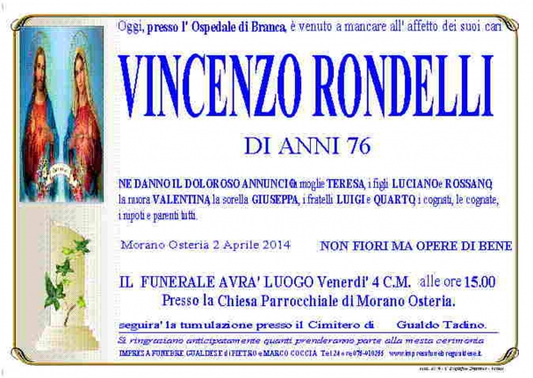 Vincenzo Rondelli