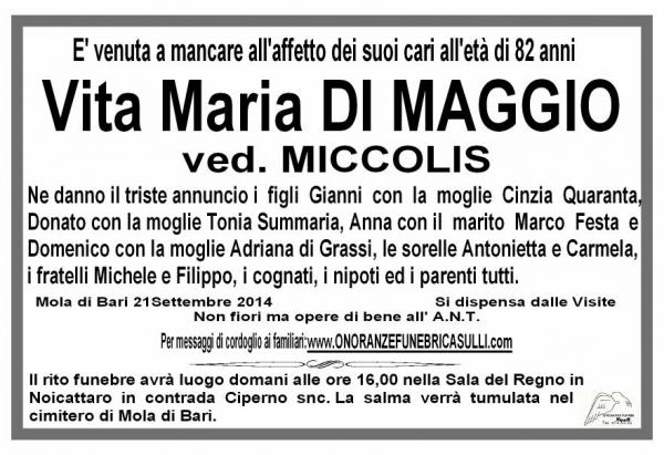 Vita Maria DI MAGGIO