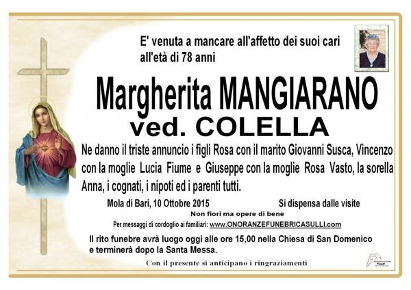 Margherita Mangiarano