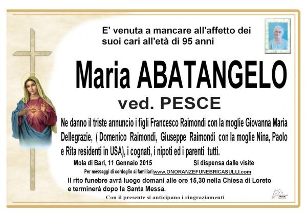 Maria Abatangelo