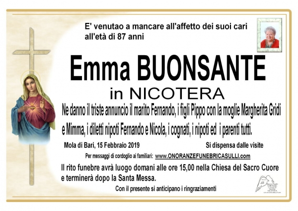 Emma BUONSANTE