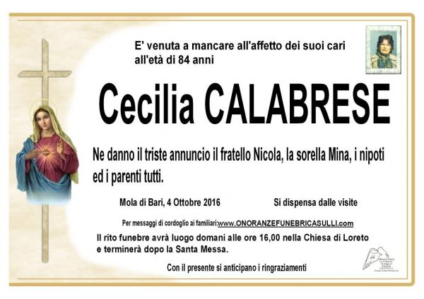 Cecilia CALABRESE