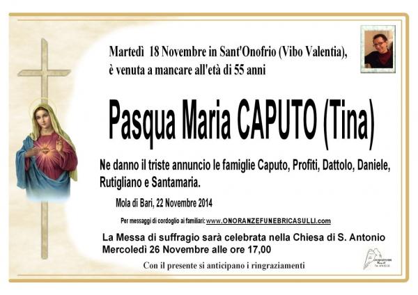 Pasqua Maria Caputo