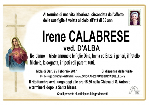 Irene CALABRESE