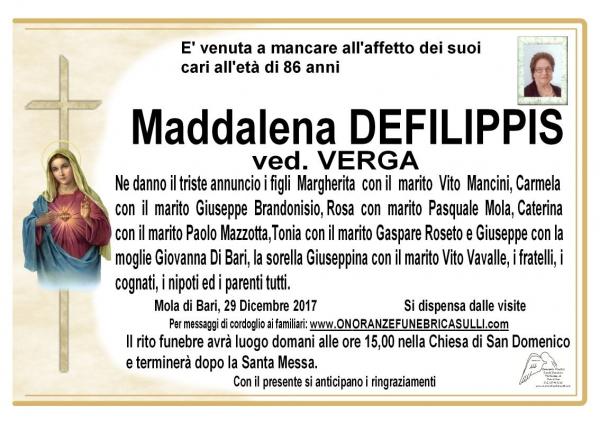 Maddalena DEFILIPPIS