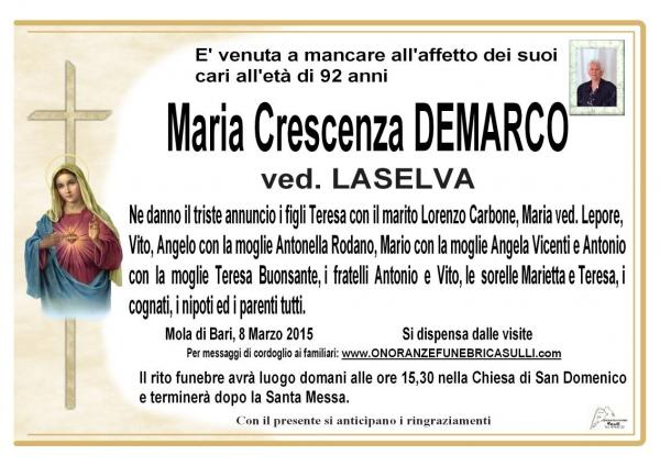Maria Crescenza Demarco