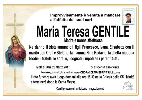 Maria Teresa GENTILE