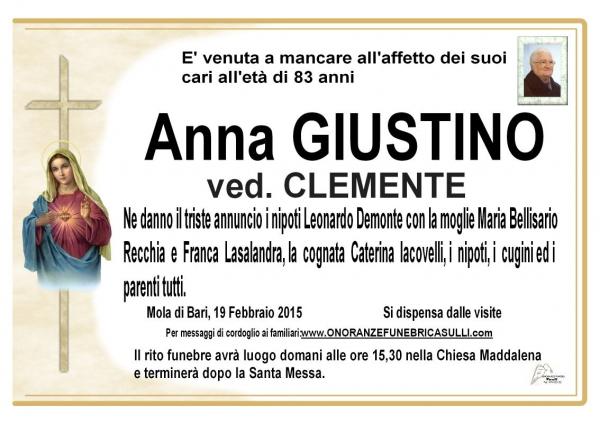 Anna Giustino