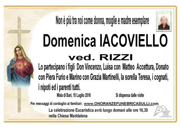 Domenica Maria Rosaria IACOVIELLO