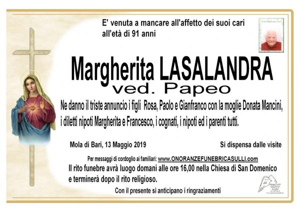 Margherita LASALANDRA