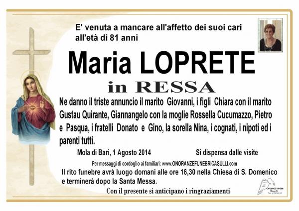 Vita Maria Loprete