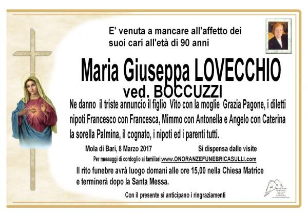 Maria Giuseppa LOVECCHIO