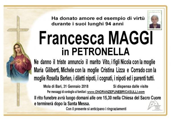 Francesca MAGGI