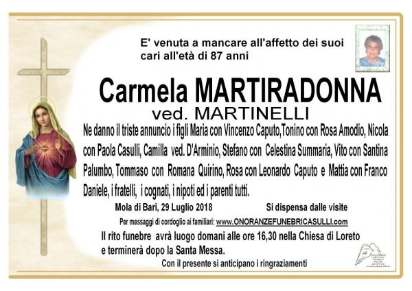 Carmela MARTIRADONNA