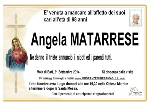 Angela MATARRESE
