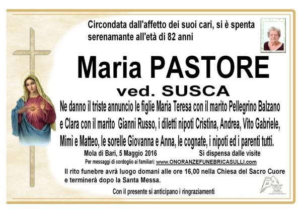 Maria Margherita Pastore