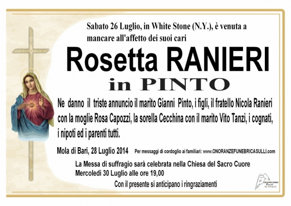 Rosetta Ranieri