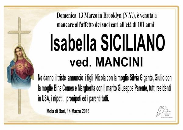 Isabella Siciliano
