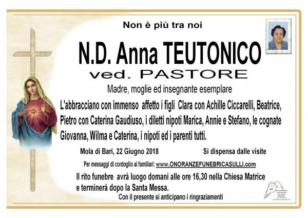 Anna TEUTONICO