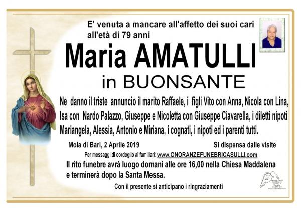 Maria AMATULLI