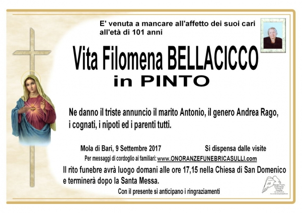 Vita Filomena Bellacicco