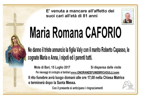 Maria Romana Caforio