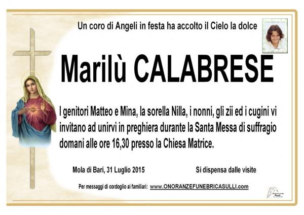 Marilù Calabrese