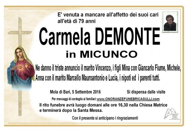 Carmela Demonte