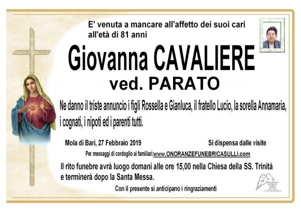 Giovanna CAVALIERE