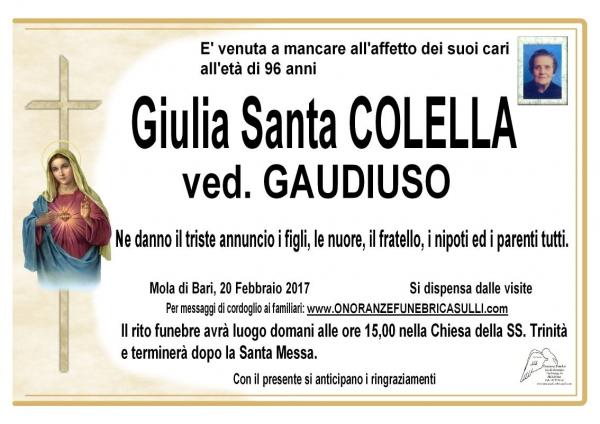 Giulia Santa Colella