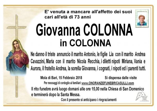 Giovanna Colonna