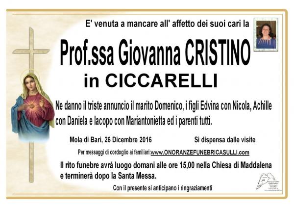 Giovanna Cristino