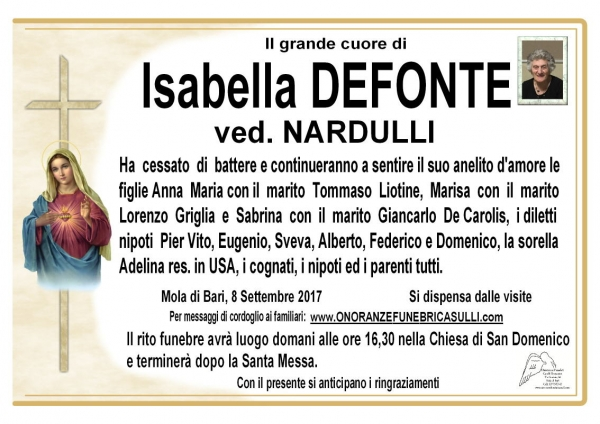 Isabella Defonte