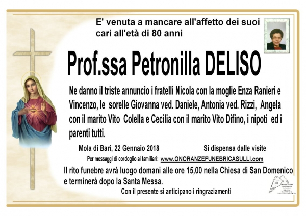 Petronilla Deliso
