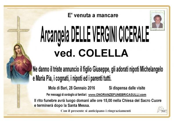Arcangela Delle Vergini Cicireale