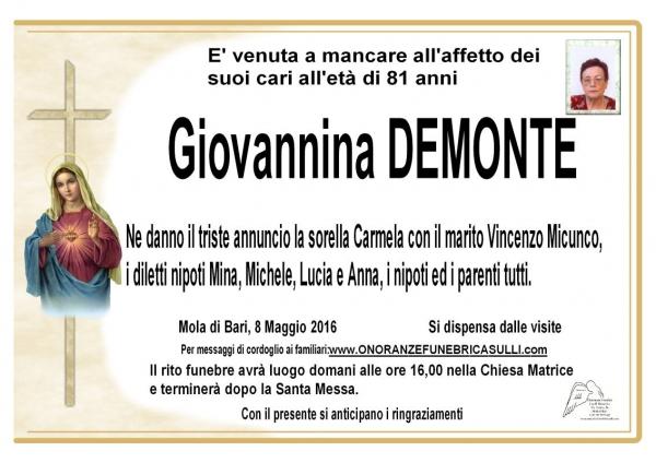 Giovannina Demonte