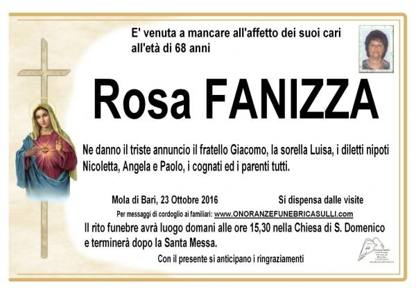 Rosa Fanizza