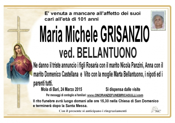 Maria Michele Grisanzio