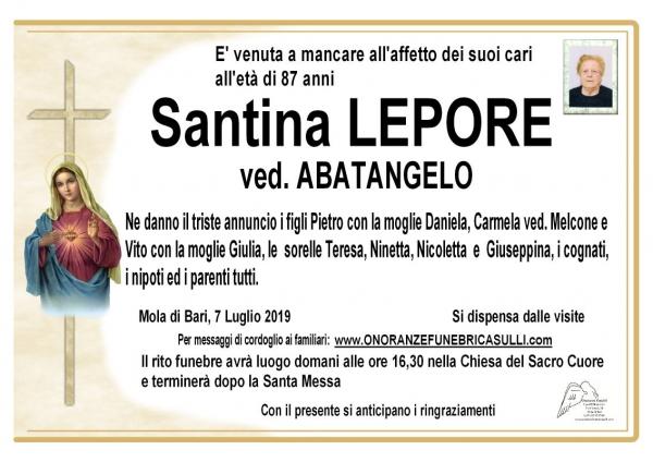 Santina LEPORE