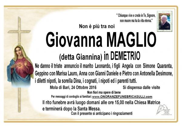 Giovanna MAGLIO