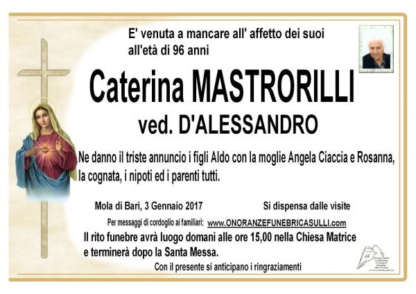 Caterina Mastrorilli