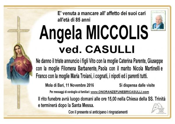 Angela Miccolis