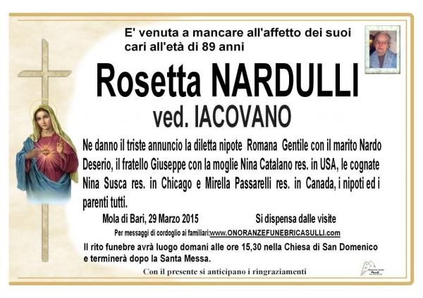 Rosetta Nardulli