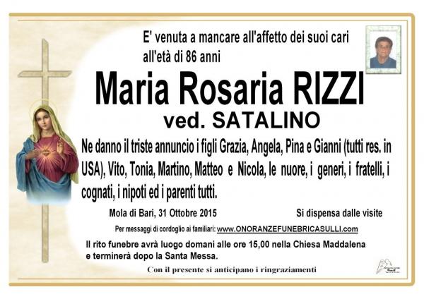 Maria Rosaria Rizzi