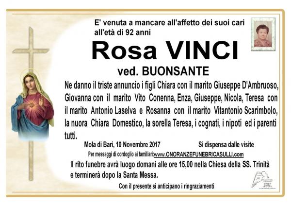 Rosa Vinci