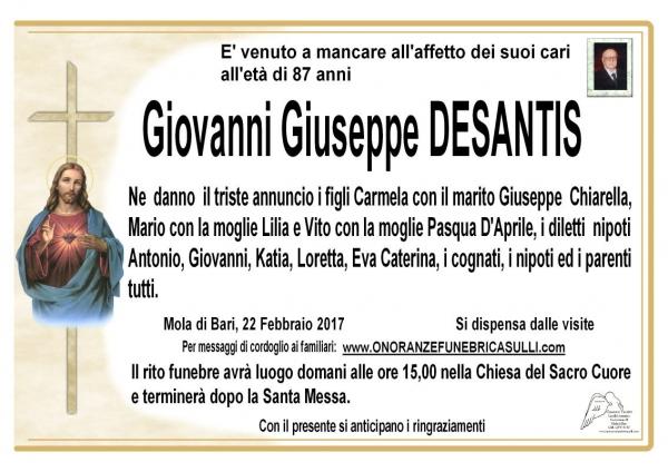 Giovanni Giuseppe Deantis