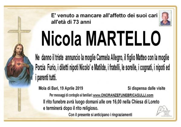 Nicola MARTELLO