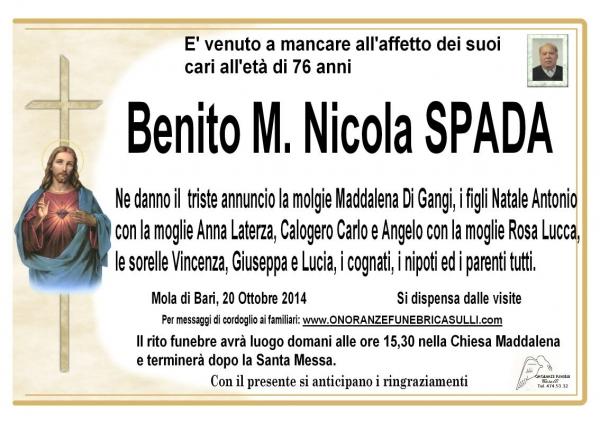Benito Mussolini Spada